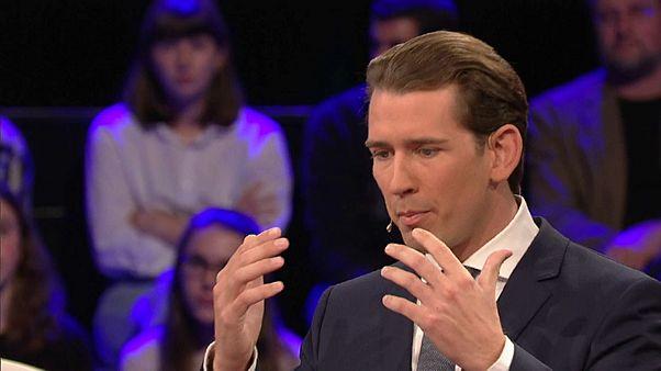 A bevándorlásról vitáztak az osztrák kancellárjelöltek