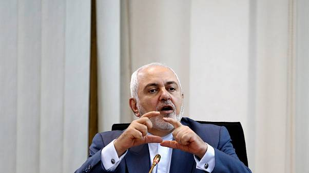 وزير الخارجية الإيراني محمد جواد ظريف يتحدث في منتدى الأمن المشترك في العالم الإسلامي في كوالالمبور، ماليزيا، 29 أغسطس 2019