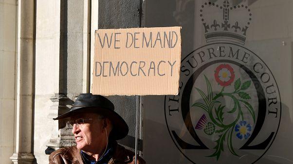 La Corte Suprema británica dará su fallo sobre la suspensión del Parlamento la próxima semana