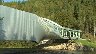 Kuzey Avrupa'nın en büyük sanat alanına köprü müze: The Twist