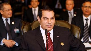 Tunisian President Zine al Abidine Ben Ali attends the opening of the two-day Arab Summit in Damascus March 29, 2008.
