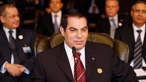 Tunus'un devrik Devlet Başkanı Zeynel Abidin bin Ali