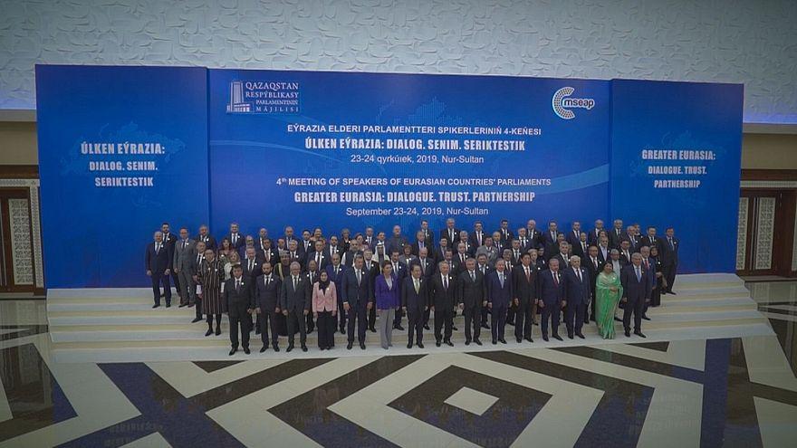 شهر نورسلطان قزاقستان میزبان چهارمین کنفرانس روسای پارلمانهای اوراسیا