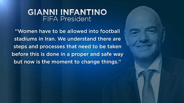 Ismét figyelmeztette Iránt a FIFA