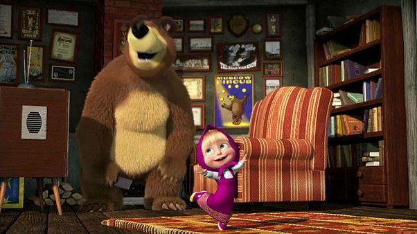 Masha y el oso, el gran éxito de la animación rusa