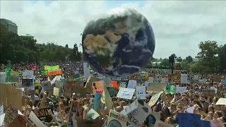 Забастовка в защиту климата: сотни мероприятий