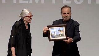 """Redgrave és Nero az """"Európai Mozi Nagykövetei"""""""
