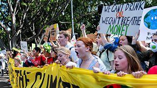 تظاهرات دانش آموزان علیه تغییرات آب و هوایی درآلمان