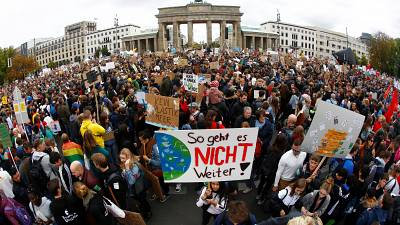 Millions of young people march for climate in historic mobilisation