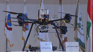 إحدى الطائرات المسيرة الإسرائيلية التي اخترقت الضاحية الجنوبية في لبنان يوم 25 أغسطس/آب