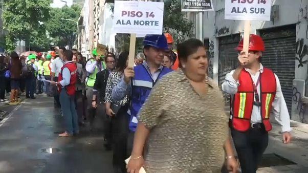 México se prepara para los terremotos recordando los de 2017 y 1985