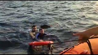تركيا: انقاذ 14 مهاجرا والبحث عن طفل مفقود