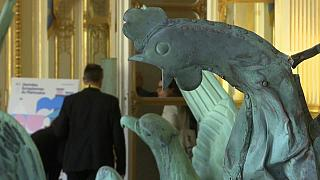Le coq de Notre-Dame exposé pour les Journées européennes du patrimoine