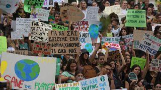 Μαθητές κατά της κλιματικής αλλαγής