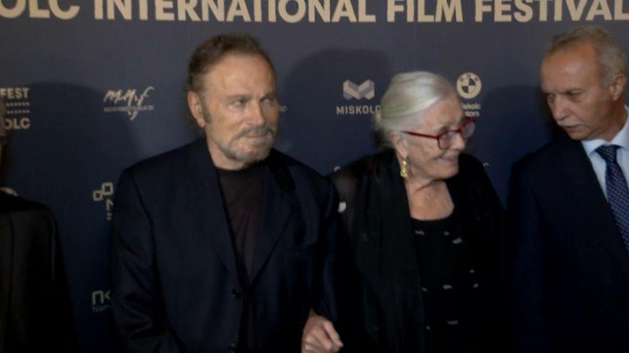 Vanessa Redgrave y Franco Nero, Embajadores del Cine Europeo