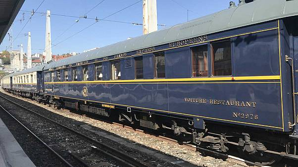 All aboard! Iconic Orient Express showcased in Lyon for European Heritage Days event