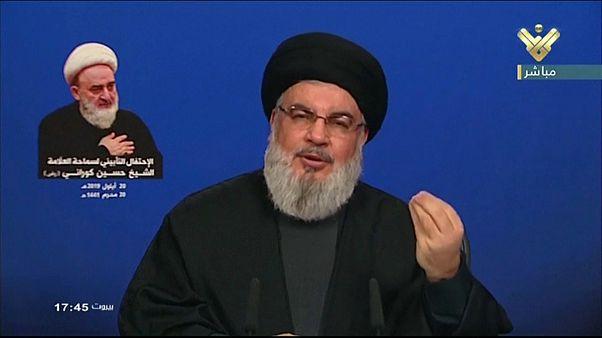 نصر الله يقول إن إيران ستدمر السعودية في أي حرب