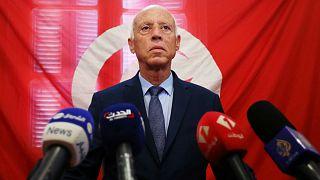 قيس سعيّد - مرشح الانتخابات الرئاسية- أرشيف رويترز