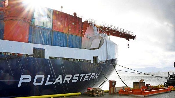 El  mayor buque científico de todos los tiempos navega ya rumbo al corazón del Polo Norte
