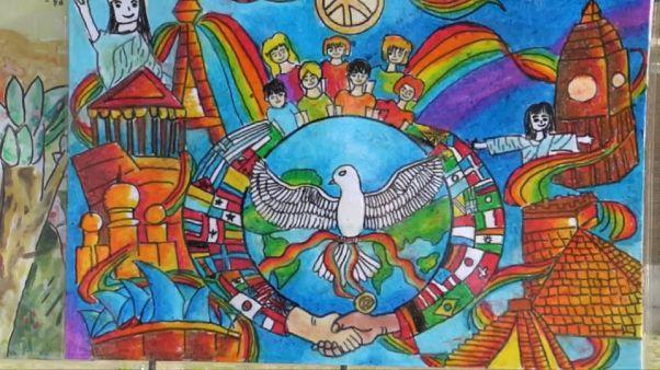 """""""Цвета мира"""" в день мира"""