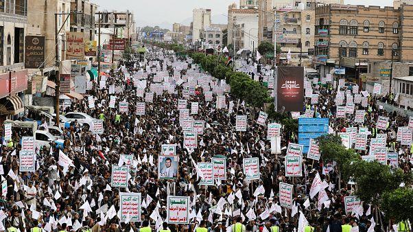 إحياء يوم عاشوراء في العاصمة اليمنية صنعاء. 10/أيلول/2019
