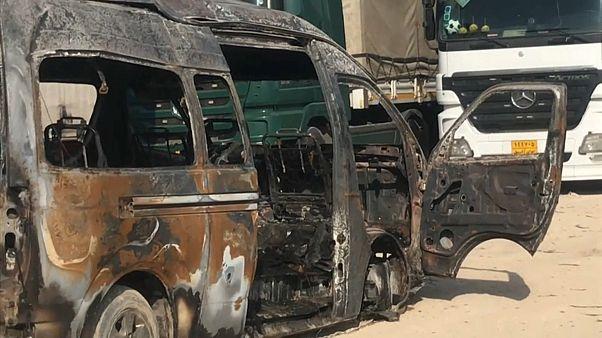 مقتل 12 شخصا وجرح 5 آخرين بانفجار عبوة ناسفة في حافلة بمدينة كربلاء العراقية