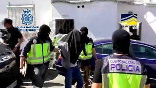 Támadások előkészítését tárolta tárolta az Algecirasban letartóztatott férfi
