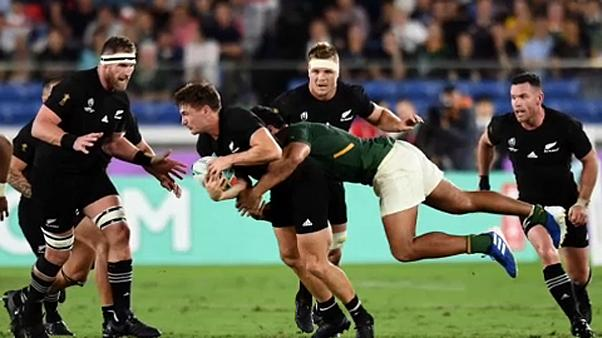 All Blacks beat South Africa 23-13 in World Cup opening match