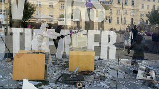 Video: Avusturya'da şehir merkezine kurulan 'öfke odası' ile stresten kurtulmaya çözüm