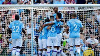 Premier Lig'in son şampiyonu Manchester City'den Watford'a tarihi fark: 8-0