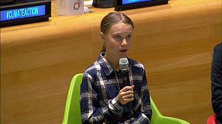 Greta Thunberg lleva a la ONU el ambicioso mensaje climático de millones de jóvenes