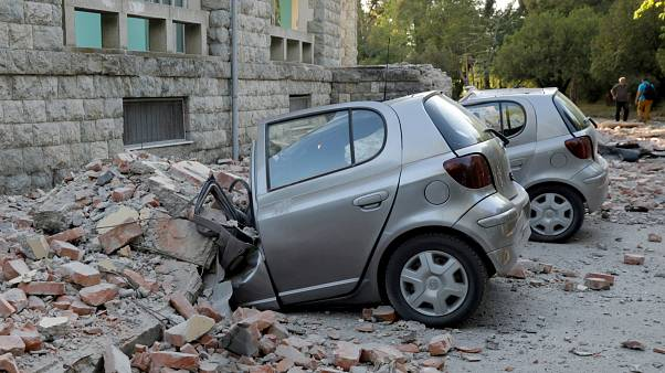 Földrengés Albániában
