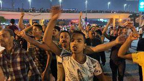 اشتباكات بين قوات الأمن والمتظاهرين في السويس خلال تظاهرة جديدة معارضة للسيسي
