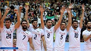 تیم ملی والیبال ایران بر بام آسیا ایستاد