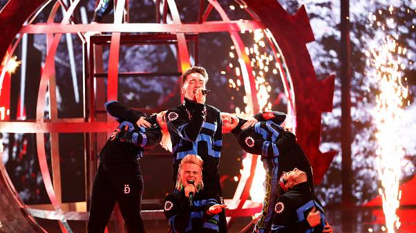 EBU fines Iceland for their band's display of Palestinian scarves during Eurovision final