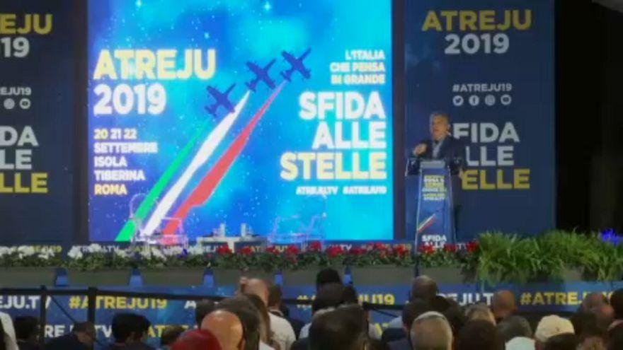 La derecha italiana llama a la unidad en la fiesta anual de los Hermanos de Italia