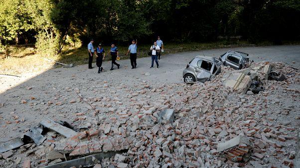 Földrengés után: Kárfelmérés Albániában