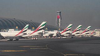پرواز پهپاد فرود هواپیماها در فرودگاه دوبی را مختل کرد