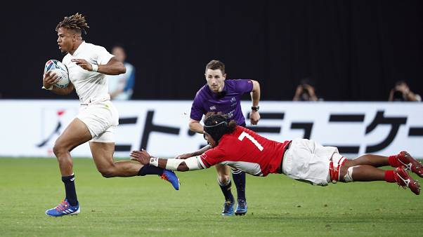 Angleterre - Tonga, à Sapporo (Japon), le 22/09/2019