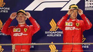 F1: первая победа Феттеля
