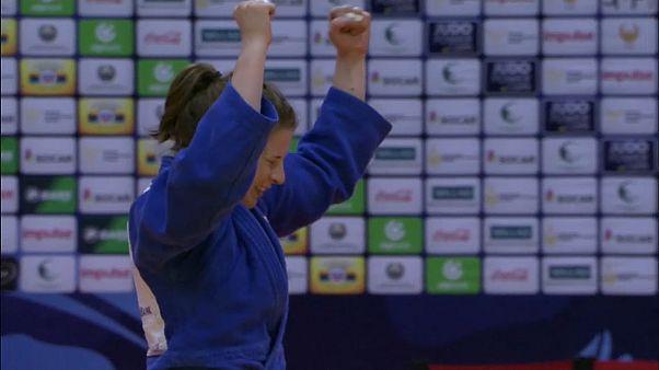 Judo Grand Prix Taschkent - Gold für Bernadette Graf