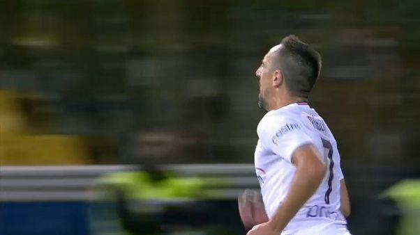 اللاعب الفرنسي فرانك ريبيري