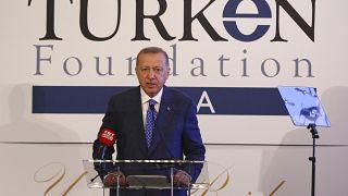 Cumhurbaşkanı Erdoğan: FETÖ'nün ipliğini tüm dünyada pazara çıkarmakta kararlıyız