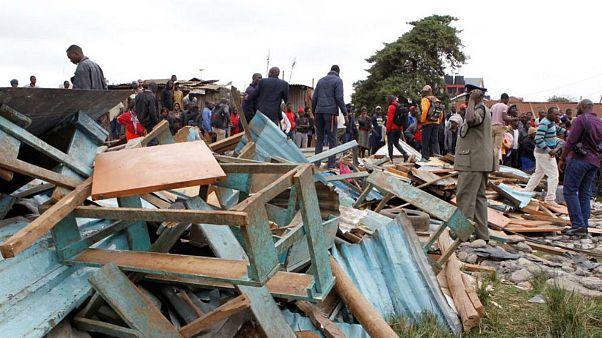 سقوط سقف مدرسه در کنیا ۷ دانش آموز را به کام مرگ فرستاد
