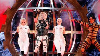 Eurovision, Islanda multata per le sciarpe palestinesi durante la finale di Tel Aviv