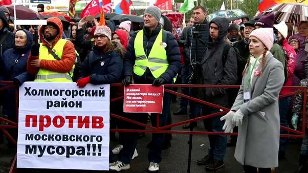Russia: i cittadini di Arcangelo protestano contro la realizzazione di una discarica