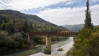 Η Γέφυρα Μπανιά ΑΠΕ-ΜΠΕ/ΓΡΑΦΕΙΟ ΤΥΠΟΥ ΝΔ/ΔΗΜΗΤΡΗΣ  ΠΑΠΑΜΗΤΣΟΣ