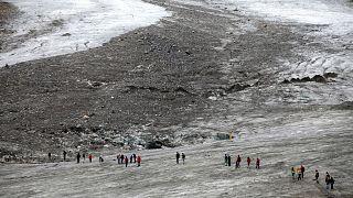 Imagen de archivo del glaciar Pasterze, el mayor de Austria