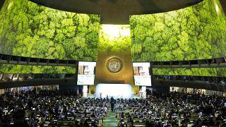 Sede de las Naciones Unidas en Nueva York, Estados Unidos. El 23 de septiembre de 2019.