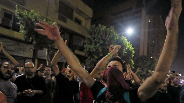 اعتقال أكثر من 1100 شخص بعد احتجاجات مناهضة للسيسي في مصر